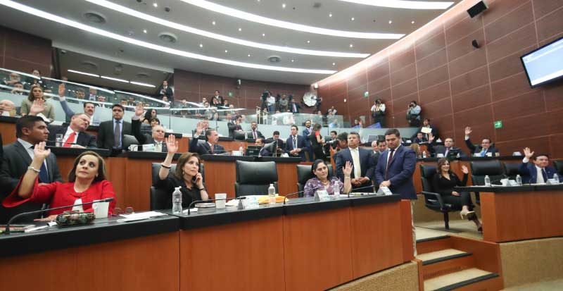 Senado pide informe a la SRE 4