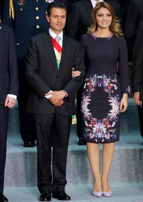 Angelica Rivera en los Informes de Gobierno 2014 1