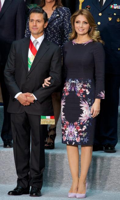 Angelica Rivera en los Informes de Gobierno 2014