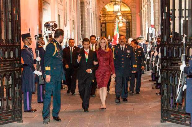 Angelica Rivera en los Informes de Gobierno 2015