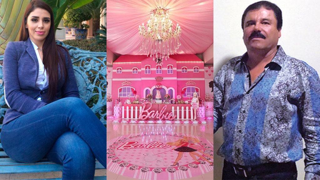 Imágenes de la fiesta de las gemelas de Joaquín [El Chapo] Guzmán