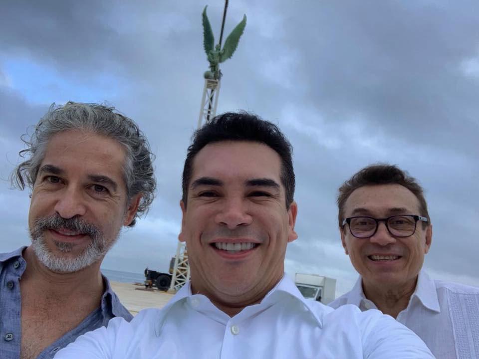 Moreno da la bienvenida 3