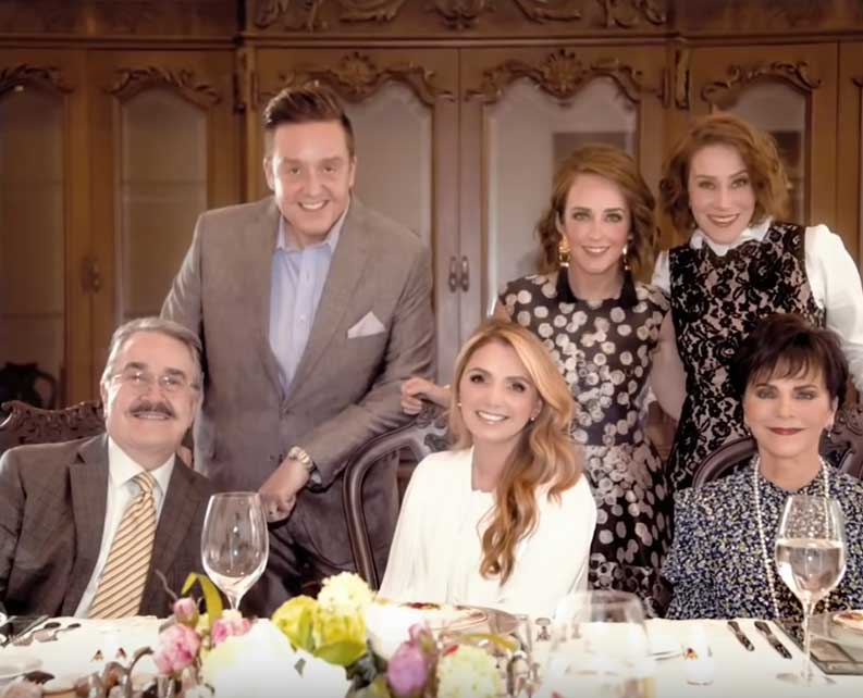 Angelica Rivera confirma 6