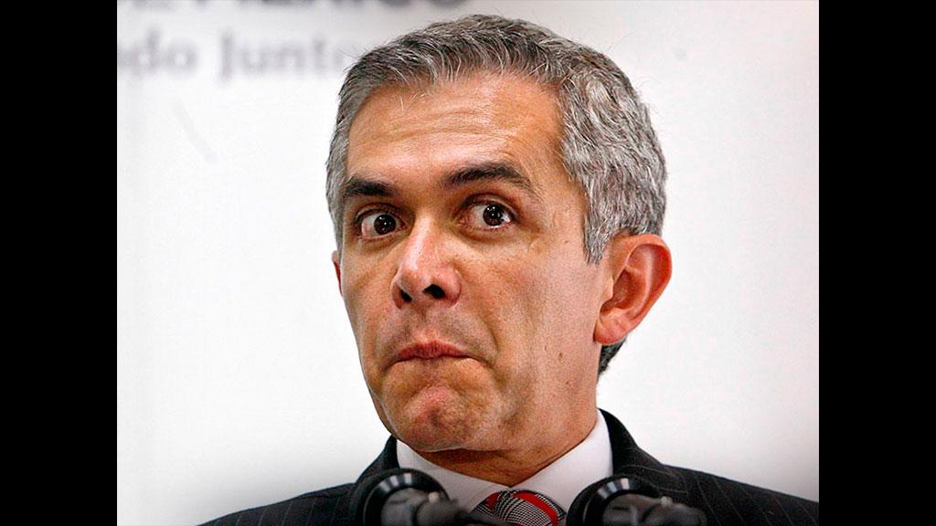 El cambio de look de Miguel Ángel Mancera