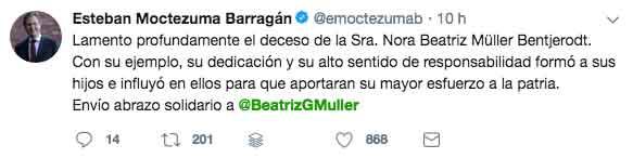 pesame a Beatriz Gutierrez 9