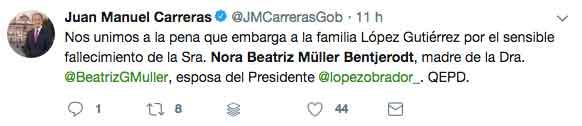 pesame a Beatriz Gutierrez 41