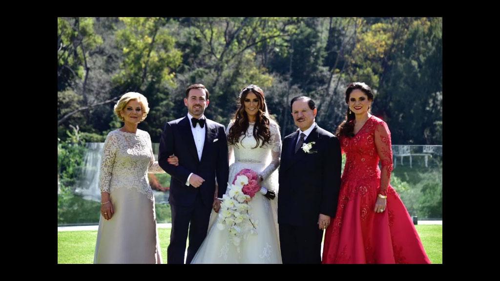 Se casaron Perla Ealy y Rogelio Cárdenas