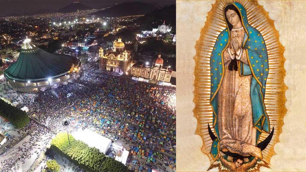 Los políticos que celebraron a la Virgen de Guadalupe