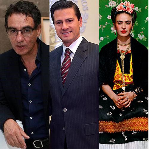 Sobrino nieto de Frida Kahlo retrató a Enrique Peña Nieto