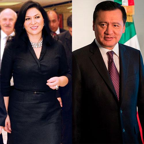 Cambio de look de Laura Vargas, esposa de Miguel Ángel Osorio Chong
