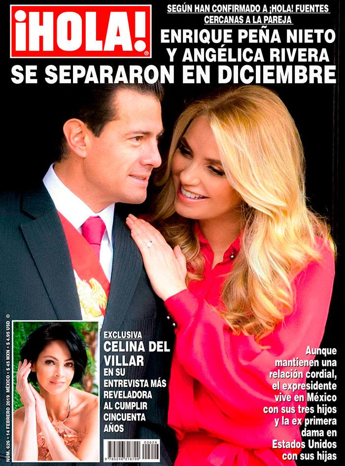 Pena Nieto y Angelica Rivera estan separados 3