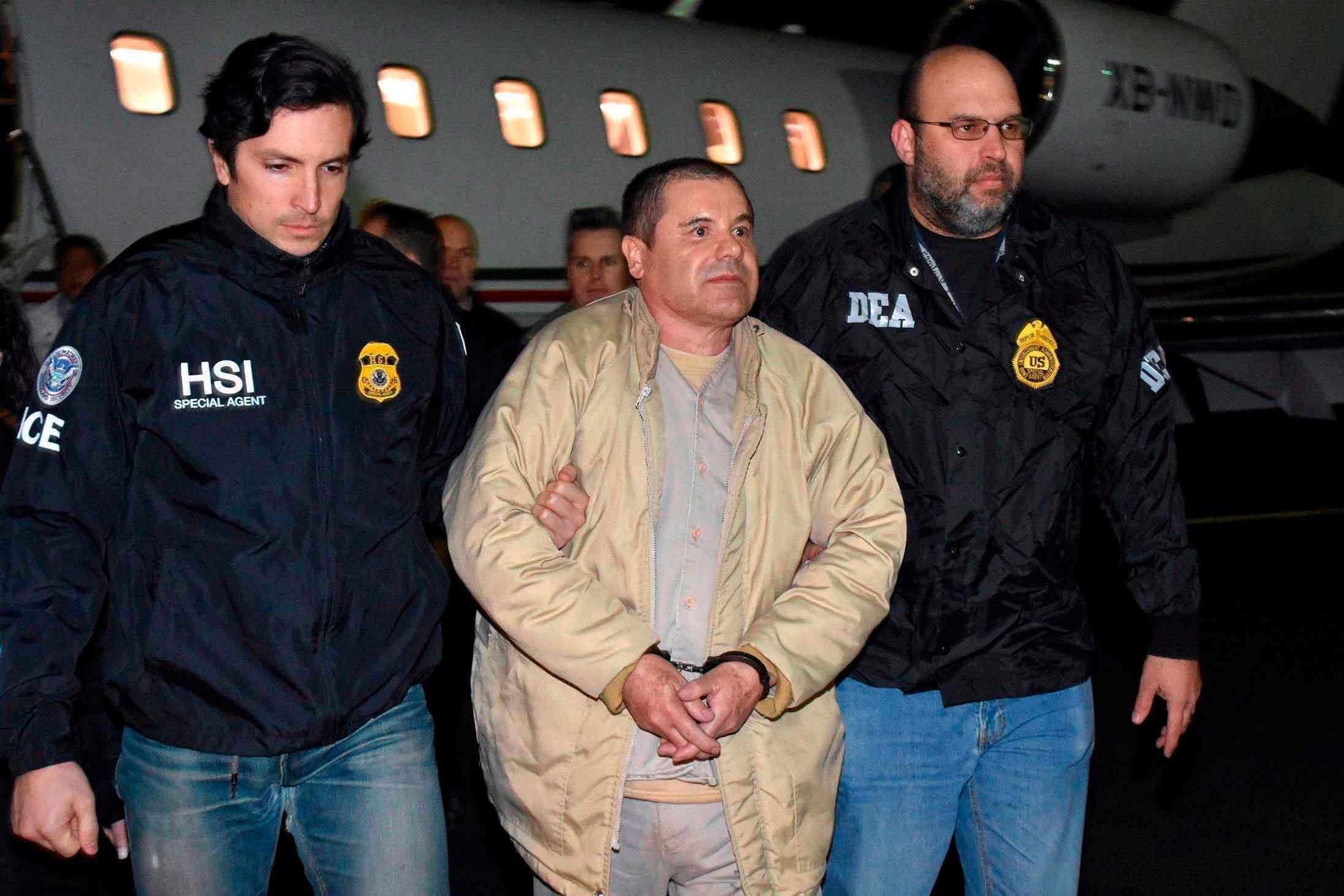 cadena perpetua a Joaquin El Chapo 3