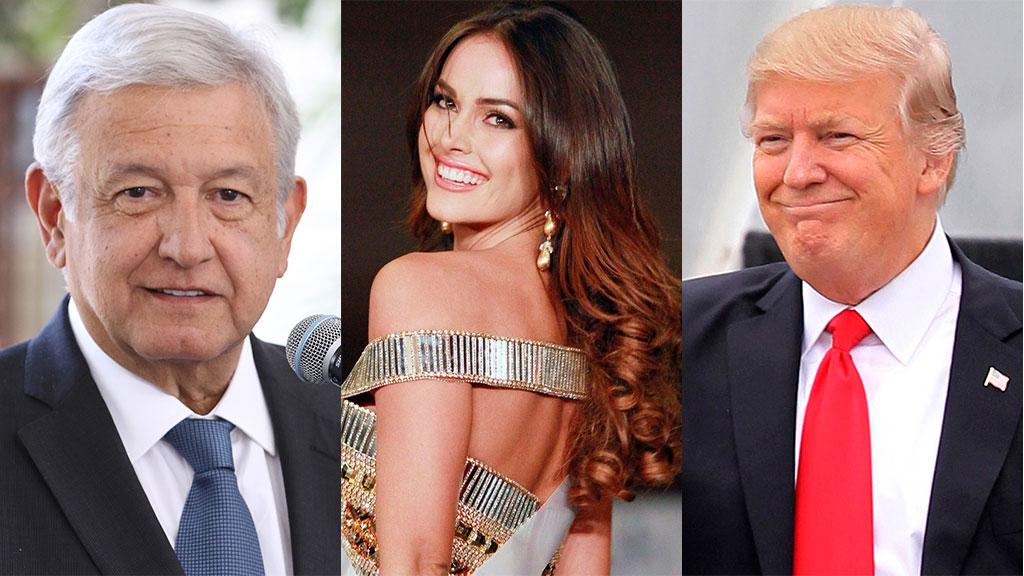 La relación entre la nuera de López Obrador y Donald Trump