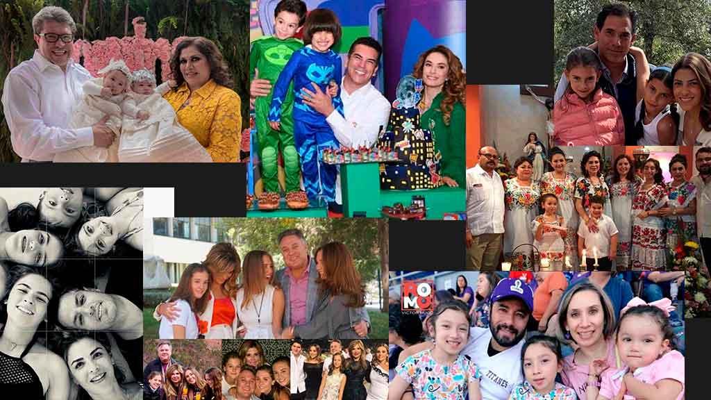 Cómo celebraron el Día de la Familia los políticos