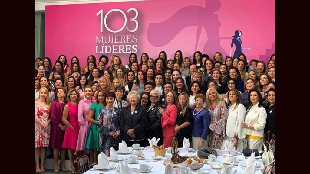 Qué políticas están entre las 103 mujeres líderes