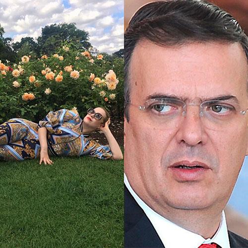 Los estampados de la hija de Marcelo Ebrard