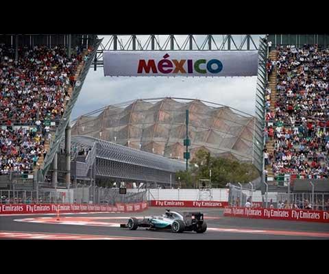 La Fórmula 1, el gran premio de México 2018