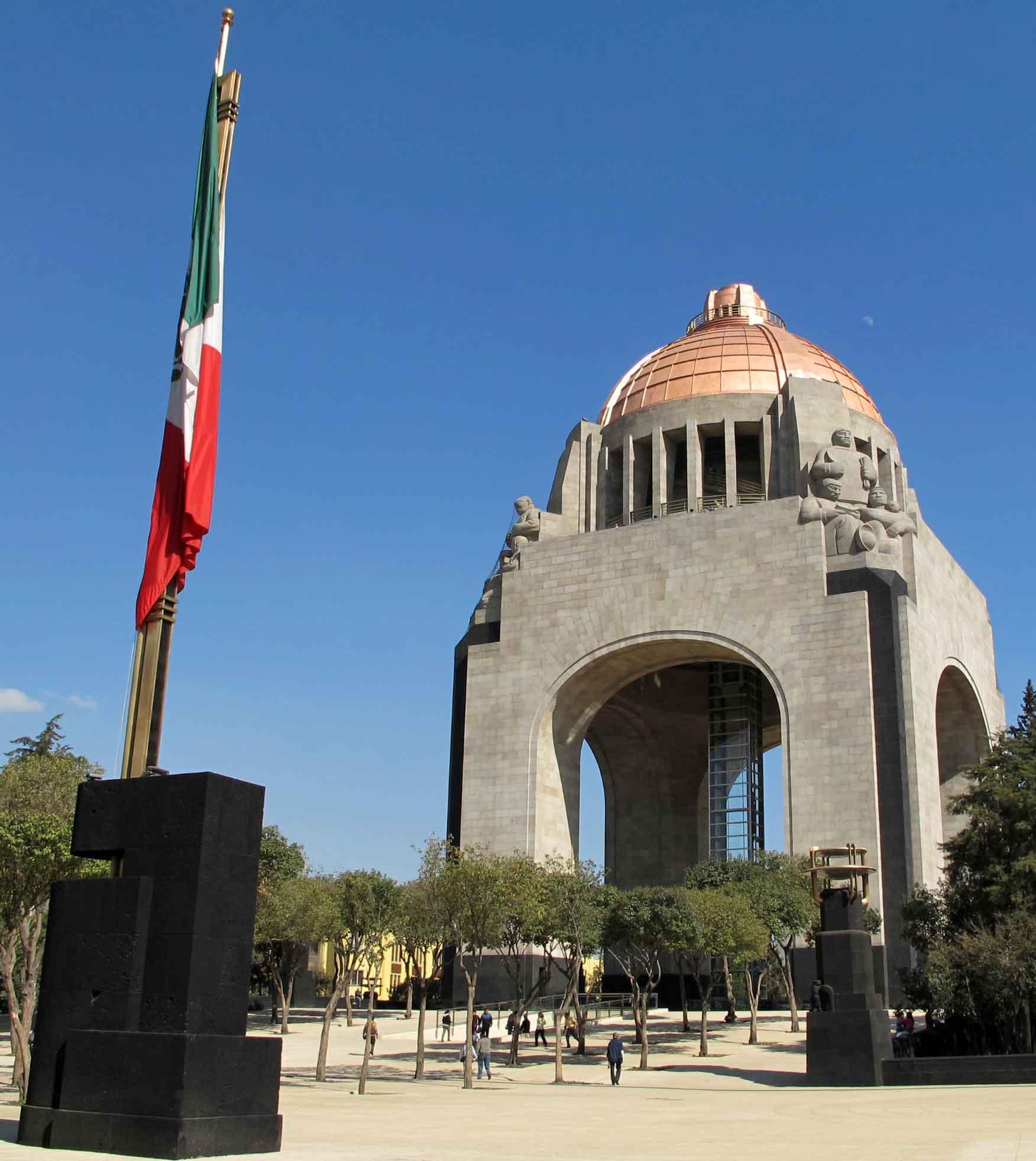 Monumento de la Revolucion Mexicana 3