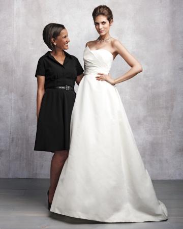 Amsale Aberra se convirtió en una diseñadora de alta costura y creó la firma Kenneth Pool en 2003. FOTO: mibridalcoutore.com