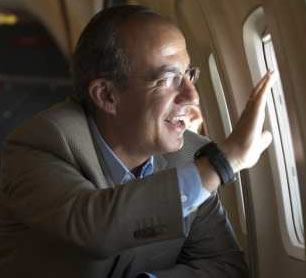 Felipe Calderón regresa a vivir a México
