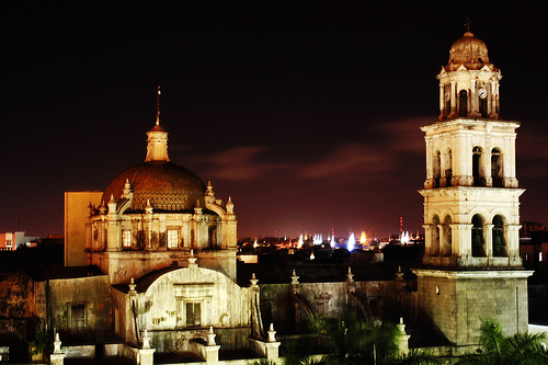 Esta es la catedral en donde los novios fueron declarados marido y mujer. FOTO: Clarinveracruzano.com