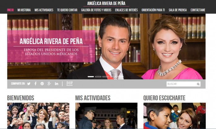 sitio web
