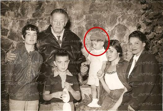 Juan Pablo convivió tanto con la familia Rivera como con los Gómez Morin aún después de la separación / FOTO: diegorivera.com
