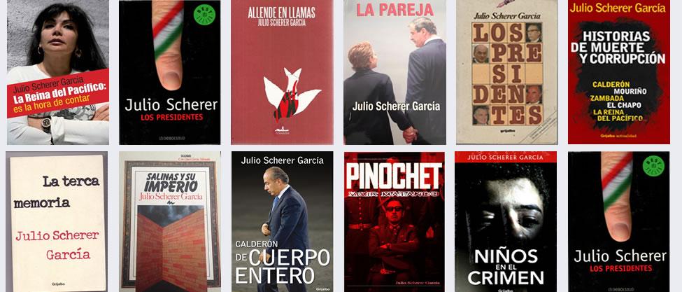 Los libros de Julio Scherer [ESPECIAL SCHERER]