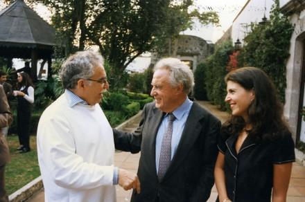 María recuerda a don Julio como un padre amoroso / FOTO: Archivo Proceso