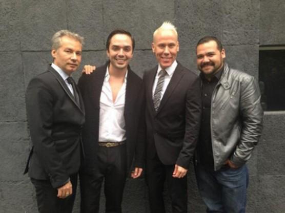 José Ramón, Benito y Alfonso son los hombres que se encargarán de la belleza de Anahí el día de su boda / FOTO: zocalo.com