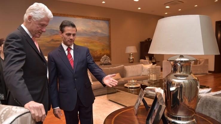 Peña Nieto mostró a Clinton la Casa Miguel Alemán / FOTO: presidencia.gob.mx