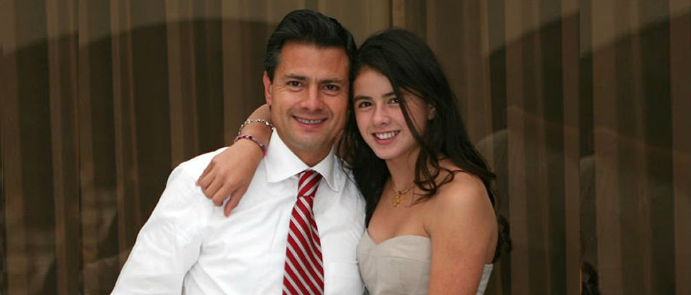 Nicole Peña: la consentida del Presidente