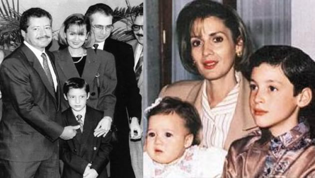 Luis Donaldo Colosio y Mariana Riojas fallecieron el mismo año dejando a huérfanos a sus dos pequeños / FOTOS: excelsior.com.mx