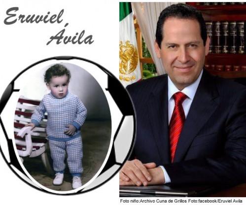 Eruviel es el gobernador del Estado de México por el Partido Revolucionario Institucional.
