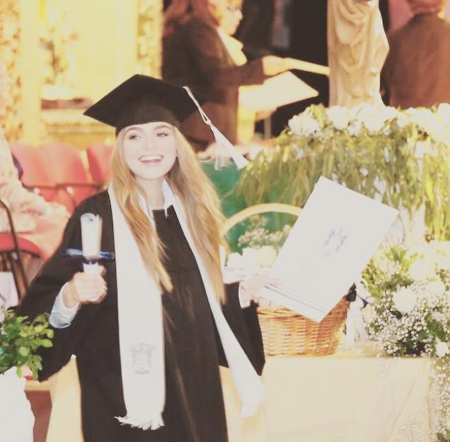 graduación de Sofía Castro