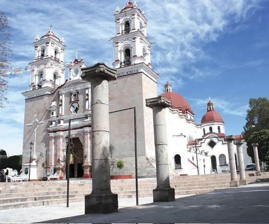 La iglesia donde se casaron Isis y Gerardo data de 1666 / FOTO: Blogspot