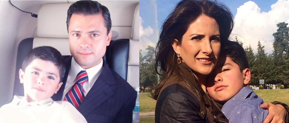 Así ha crecido el hijo de Peña Nieto y Maritza Díaz