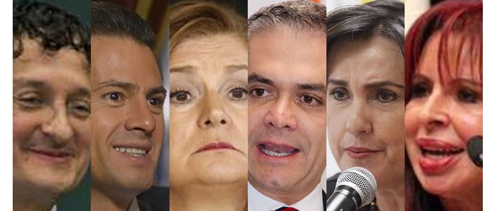 Políticos traga años