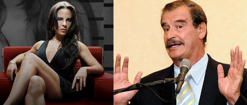 Vicente Fox defiende a Kate del Castillo