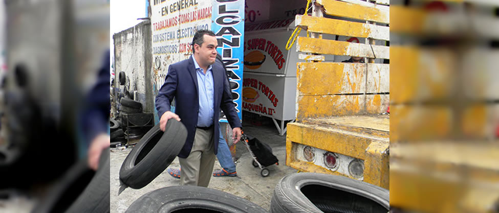 Fernando Mercado Guaida no se libera de sus llantitas
