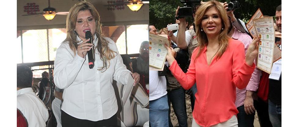El before & after de Claudia Pavlovich