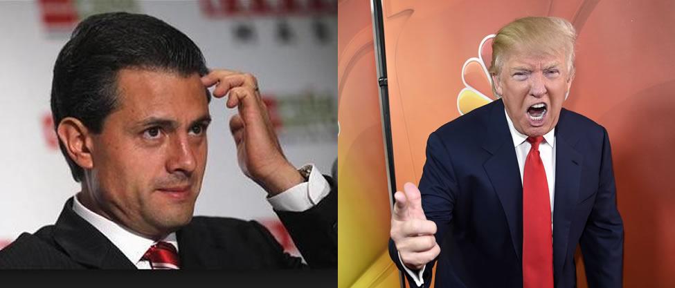 Enrique Peña Nieto VS Donald Trump