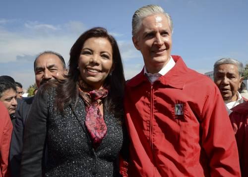 Monroy del Mazo mantiene buena relación con sus familiares políticos, aquí con Alfredo del Mazo (foto: Facebook).