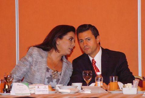 Peña Nieto ha sido de los más grandes impulsores de la carrera de su prima (foto: Cuartoscuro).