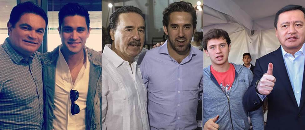 Hijos guapos de los políticos feos [FOTOS]