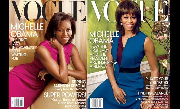 Michelle Obama la primera dama de los medios