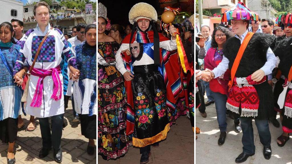 Los trajes típicos de Manuel Velasco Coello
