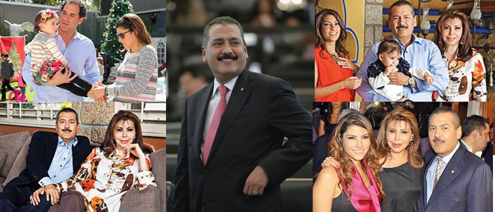 Las mujeres de Manlio Fabio Beltrones