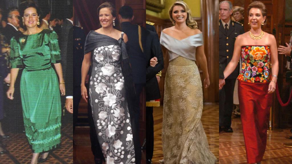 Los vestidos con los que dieron el grito las primeras damas