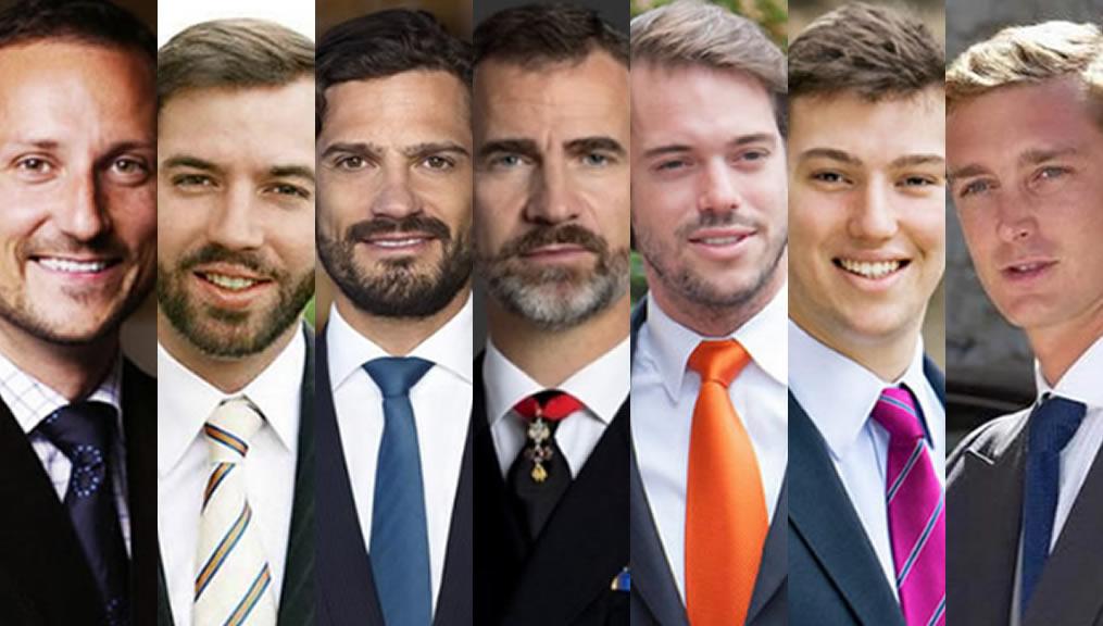 Los hombres más guapos de la realeza internacional